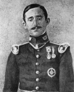 1er. Teniente del Batallón de Cazadores de Las Navas nº 10, muerto en el Barranco del Lobo en julio de 1909.