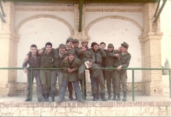 PLM 3º/82. Tribuna del Campo de Fútbol